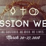 Passion Week website