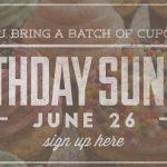 Birthday Sunday web banner