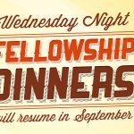 Fellowship Dinners web banner