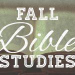Fall Bible Studies website
