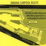 Awana Carpool Route