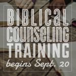 Biblical Counseling Training web banner