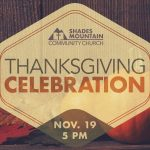 Thanksgiving Celebration web banner