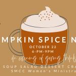pumpkin spice slider