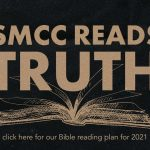 SMCC Reads Truth banner with words